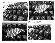 Los Mundos de Nika Vintage: Maquina de escribir vintage japonesa