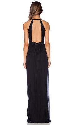 Shop for Jay Godfrey Dallenbach Backless Gown in Black at REVOLVE. Free day shipping and returns, 30 day price match guarantee. Trendy Dresses, Elegant Dresses, Beautiful Dresses, Fashion Dresses, Bridesmaid Dresses, Prom Dresses, Formal Dresses, Belle Silhouette, Backless Gown