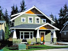 You had always wanted to build a Bungalow but weren't sure if one would fit on your narrow lot. Luckily you found one that fits beautifully and you and your