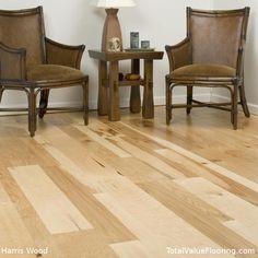 Rawhide, a hickory wood floor by Harris Wood.  TotalValueFlooring.com