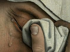 "Detail from ""The Descent from the Cross"" by Rogier van der Weyden -- la beauté sera convulsive ou ne sera pas Drama Words, Sunday Prayer, Art Et Nature, National Gallery, The Descent, Burn Out, Chef D Oeuvre, Beautiful Paintings, Les Oeuvres"