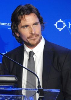 Christian Bale (in this shot looks like my husband)