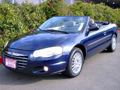 Only $6,991 - 2005 Chrysler Sebring Touring Convertible -2 door  Engine 2.7L V-6cyl automatic (Mileage ONLY 80,291) Low montlhy payment plans too! Low down payment available. Chrysler is a reliable car company - they are making more affordable and reliable cars now. Test drive this one this weekend call them today.  http://www.toyotamarin.com/used/Chrysler/2005-Chrysler-Sebring-Bay+Area-251ad5be0a0d066901cd468cca0c8f0b.htm Toyota Marin 445 Francisco Blvd East   Call Now (800) 608-6193
