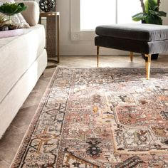 The Effective Pictures We Offer You About Transitional decor A quality picture can tell you many thi Living Room Area Rugs, Living Room Carpet, Living Rooms, Jute Carpet, Rugs On Carpet, Wall Carpet, Brown Rug, Blue Brown, Rugs Usa