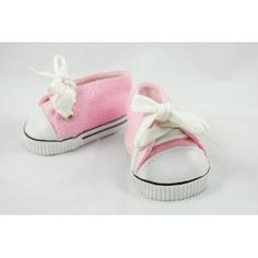 Low Cut Pink Tennis Shoes for American Girl Dolls and most 18 Inch Dolls (Toy)  http://www.amazon.com/dp/B004AO5WFA/?tag=iphonreplacem-20  B004AO5WFA