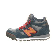 Hiking Sneaker H710CNV Blue(looks like deep green) + Camel brown + Orange Hiking Boots