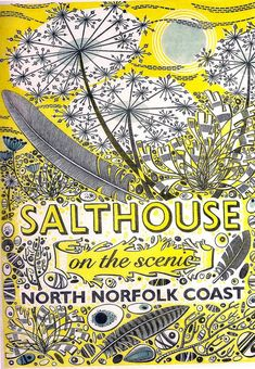 Salthouse on the Scenic North Norfolk Coast, Angie Lewin