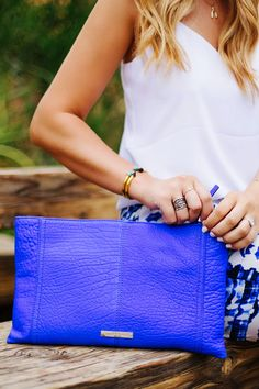 Accessorize with bright pops of color