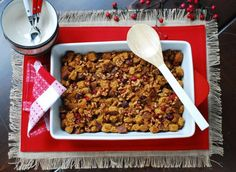 Cranberry-Orange Holiday Bread Pudding