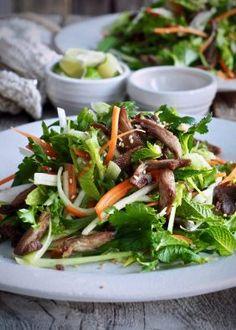One pot wonder - lettvint gryterett - Mat På Bordet Japchae, Meat, Ethnic Recipes, Noodle Salads