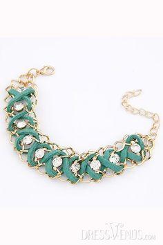Fascinating New Arrival Rhinestone Chain Women Bracelet , Bracelet