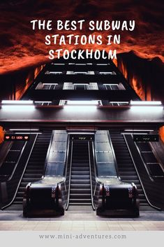 A Stockholm Metro Art Tour: The Best Stations To See | Mini Adventures