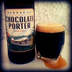 Chocolate Porter Beer from Hangar 24 Brewery in Redlands, California