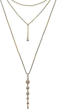 Necklaces For Girlfriends Rebecca Minkoff Pave Ball Layered Necklace Jewelry Gifts, Jewelry Necklaces, Necklace For Girlfriend, Expensive Jewelry, Sterling Jewelry, Layered Necklace, Jewelry Trends, Beautiful Necklaces, Rebecca Minkoff