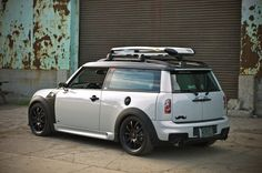 MINI inspiration.  One of my favorite modified Clubmans.