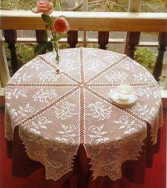 Irish crochet &: CROCHET TABLECLOTH