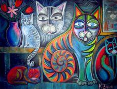Cats meow by karincharlotte.deviantart.com on @deviantART