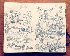 2.2 Sketchbook 2013 on Behance