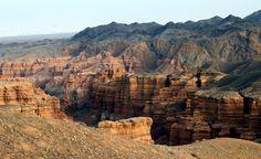 charyn canion in Kazakhstan (200 km from Almaty)