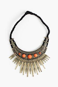Iron Sunburst Necklace