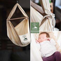 Eine Übersicht unserer NONOMO® Federwiegen   Babyhängematten in verschiedenen Ausführungen.