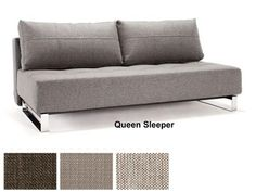 Supremax Deluxe Excess Lounger Queen Size Convertible Sofa Bed By Innovation Living