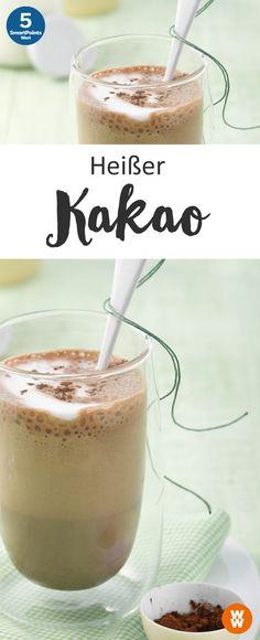 Heißer Kakao | 5 SmartPoints/Portion, Weight Watchers, Desserts, fertig in 5 min.