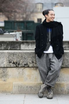 He's fly too. TOMMY TON