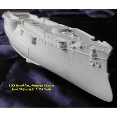 USS Brooklyn ACR3 US Armored Cruiser 1898 Kit by Denny Pierson 1/350 Scale Resin Model Ship Kit Scale Model Ships, Scale Models, Model Ship Kits, Us Armor, Plastic Models, Brooklyn, Resin, Scale Model