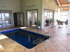 Endless pool in a home sold in 2012