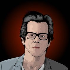drew @kevinbacon yestrday... i forgot to share it.  #portrait #cityonahill #tvseries #showtime #kevinbacon #digitalart #artwork #art #cartoon #comic #suit #glasses #actor #music #ripd #movie #movies #youtube #speeddraw #speedpaint #speedart