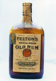 Felton's Crystal Spring Old Rum