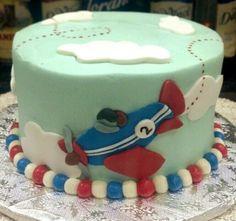 Airplane Smash Cake by aspy.deviantart.com on @DeviantArt