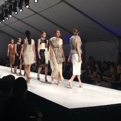 Check out VARSHA's full collection showcased at Thursday night's @fashionxtonline #FashioNXT Fashion Show. It is so nice to see a designer make such sleek and sophisticated garments with faux leathers and furs. #AnimalFriendly #SustainableFashion #RunwayShow #ModifiedStylePortland @varsha.agrawal