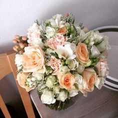 My wedding flowers! Just love it!!