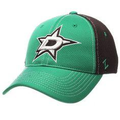 newest collection 85f1b 5670b Men s Zephyr Green Black Dallas Stars Rally Spacer Mesh Flex Hat