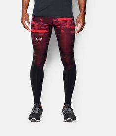 422a9eb7dff10 Shop Under Armour for Men's UA Launch Run Printed Compression Leggings in  our Mens Bottoms department
