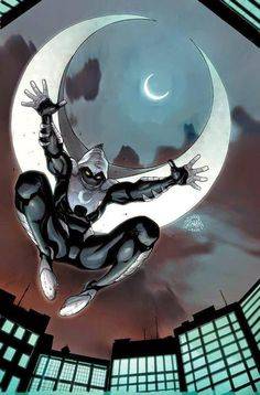 Moon Knight.... Marvel's psychotic version of Batman .He was never use right)