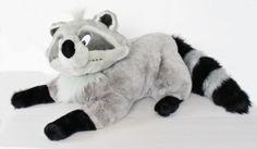"Disney Pocahontas Meeko Raccoon 36"" Large Plush Stuffed Animal VHTF Toy"