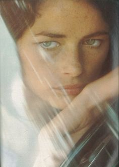 Charlotte Rampling. To me she is the most beautiful woman who ever walked this earth - young or old.