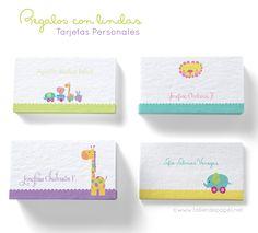 Celebrando con Creatividad! Tarjetas Personales también para los niños!!