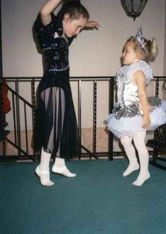 You were always the boss when it came to creating sleepover/playdate dance routines.