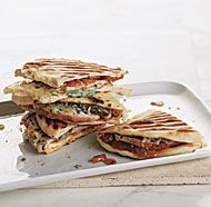 Grilled Turkey and Cheddar Sandwiches with Mango Chutney. This could be put on bread and cut into finger sandwiches. Mango chutney is always a hit in my chicken salad.