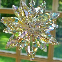 Huge Swarovski Crystal Suncatcher  Stella by HeartstringsByMorgan, $61.00