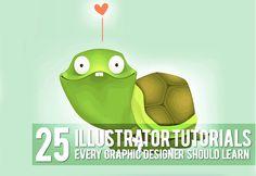 25 tutorials ilustrators
