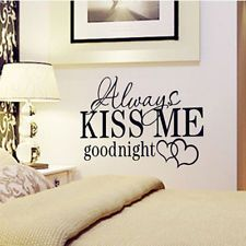 DIY Removable Room Home Decor English Words Wall Stickers Decal Vinyl Art Mural