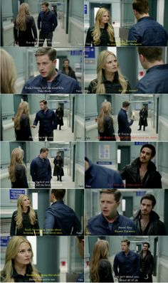 """David , Emma and Hook.  - """"Kansas"""" 3*20  , One of my favourite scenes of this episode"""