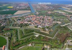 Gravelines Gravelines France, Calais, Fortification, Aerial View, City Photo, Places, Champagne, Photos, Holidays