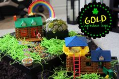 Gold Leprechaun Traps for St. Patrick's Day