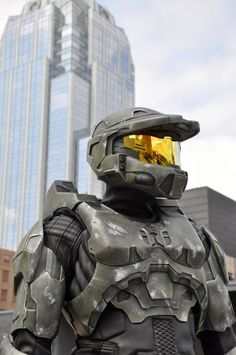 Tips on building your own Master Chief Costume